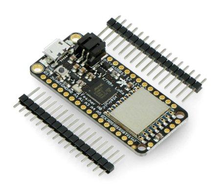 Adafruit Feather M0 + moduł radiowy RFM95 LoRa