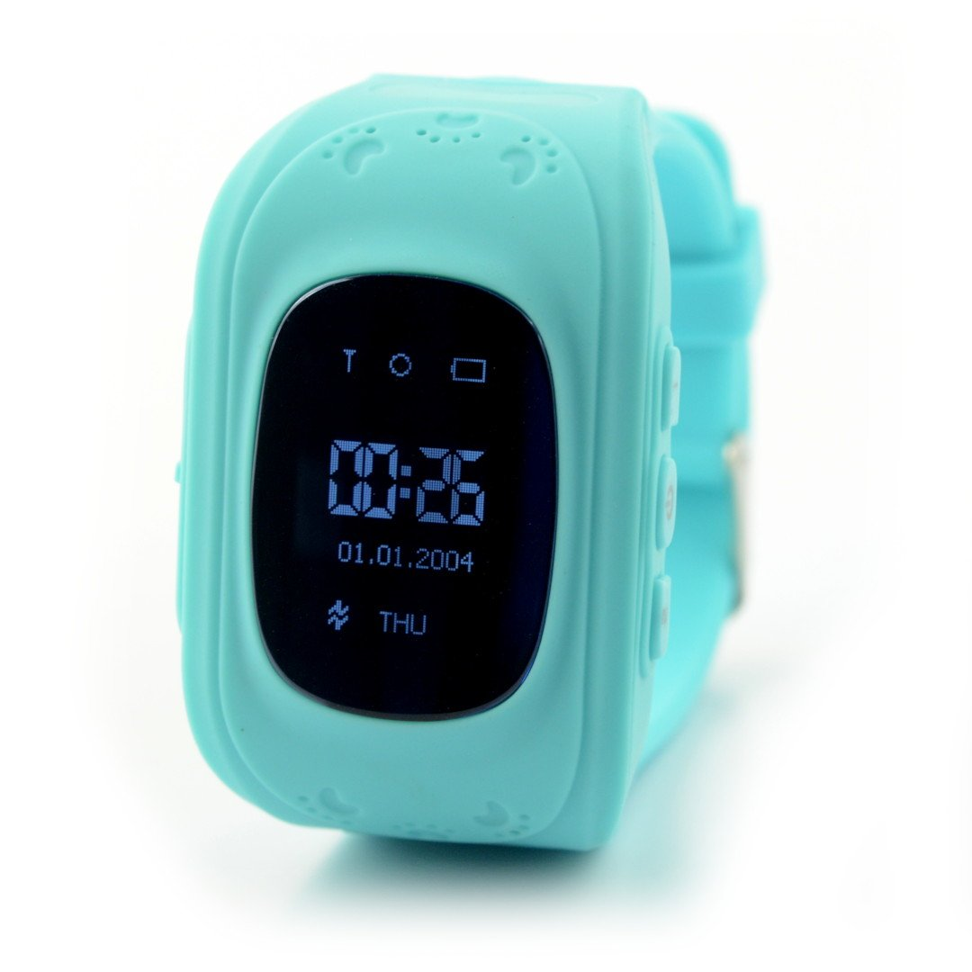 Zegarek dla dzieci z lokalizatorem GPS - Military