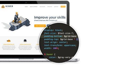 kompletna struktura HTML oraz CSS