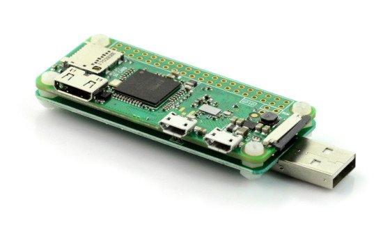 Pi Zero W USB-A Addon Board v1.1