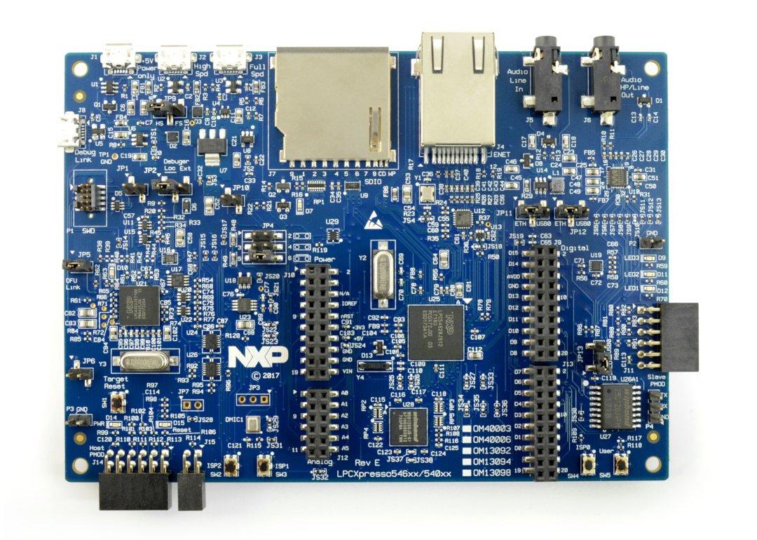 OM13098 - moduł z wyświetlaczem LCD - LPCXpresso5462