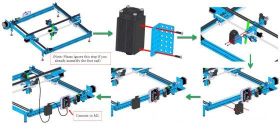 Sposób połączenia z MakeBlock 90014 - XY-Plotter Robot Kit V2.0