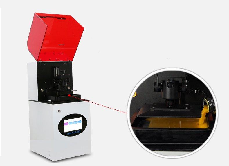 Aluminiowe koryto w drukarce Creality DP-002