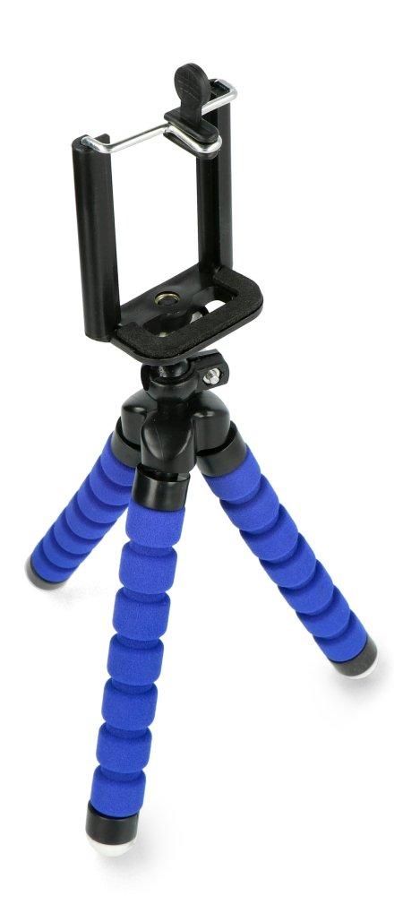 Statyw tripod do telefonu M-LIFE ML0624 - niebieski