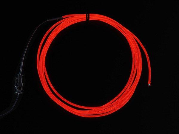 Przewód elektroluminescencyjny 2,5m - biały