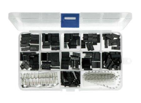 Zestaw zawiera ponad 600 elementów montażowych.