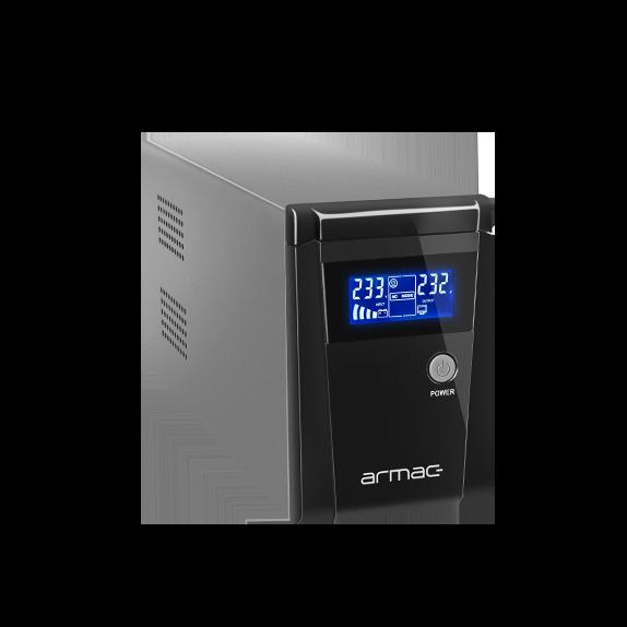 Zasilacz UPS Armac Office 850F  stworzony został z myślą o zastosowaniach biurowych.
