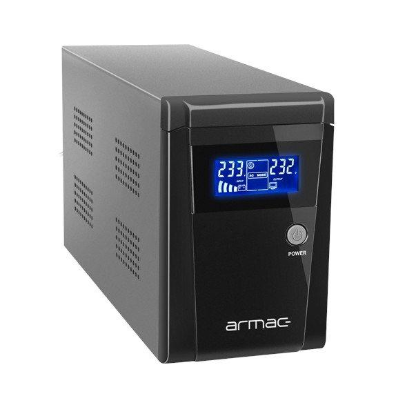 Zasilacz awaryjny UPS Armac Office 1000E z wyświetlaczem LCD.