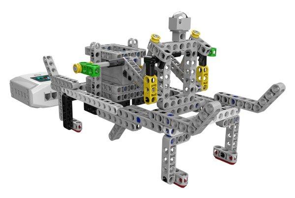 Z elementów zestawu możemy również zbudować i zaprogramować wiele własnych projektów.