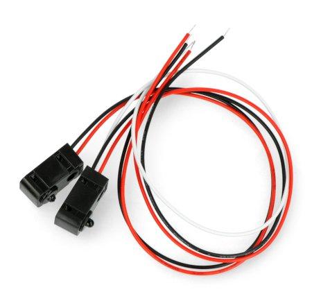 Czujnik przerwania wiązki IR - LED 3 mm.