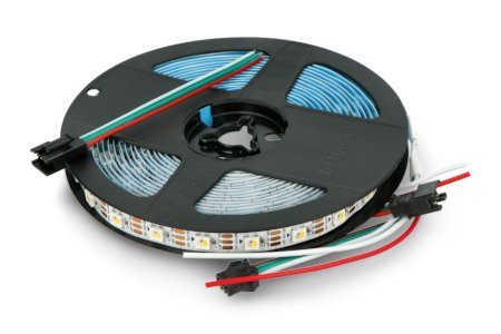 Zagęszczenie wynosi 60 diod LED na metr paska.