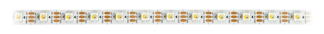 Pasek LED można przycinać do dowolnej długości. Należy skracać go po każdej diodzie w oznaczonym miejscu.