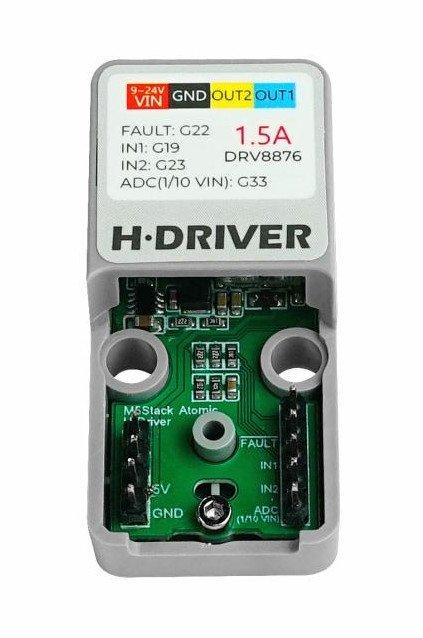 Sterownik z układem DRV8876.