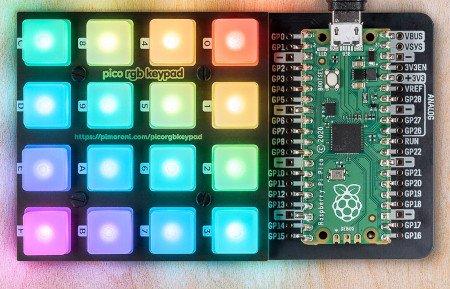 Stwórz autorski projekt świetlny z wykorzystaniem Pico RGB Keypad.